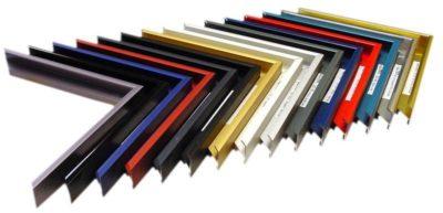 cadre aluminiume met en valeur vos visuels