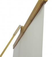 barre logik tension banner avec affiche plastifié