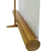 pieds logik enrouleur avec affiche 80 x 200