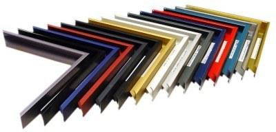 échantillon de couleur pour cadre alu