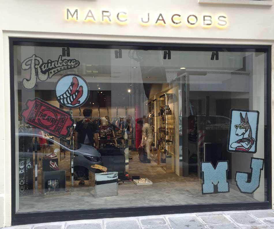 Marc Jaboc - Impression Vitrophanie